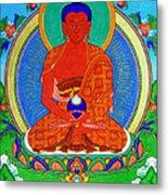 Namo Amitabha Buddha 16 Metal Print