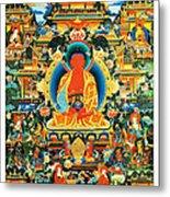 Namo Amitabha Buddha 24 Metal Print