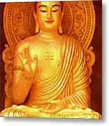 Namo Amitabha Buddha 36 Metal Print