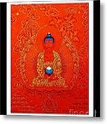 Namo Amitabha Buddha 7 Metal Print