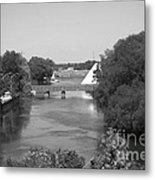 Nancy Island Channel Metal Print
