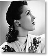 Nancy Kelly, Universal Portrait By Ray Metal Print