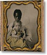 Nanny And Child, C1855 Metal Print