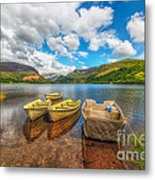 Nantlle Lake Metal Print