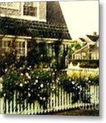 Nantucket Cottage Metal Print
