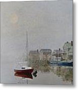 Nantucket Fog Metal Print by Karol Wyckoff