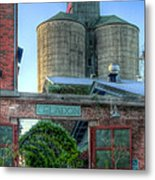 Napa Mill Metal Print