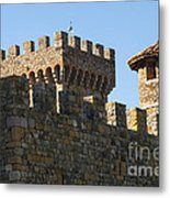 Napa Valley Castle Winery Metal Print
