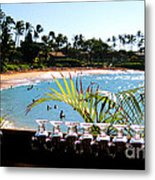 Napili Bay Maui Hawaii Metal Print