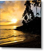 Napili Sunset Evening  Metal Print