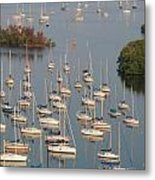 Naples Bay Metal Print