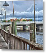 Naples Florida Waterfront Metal Print