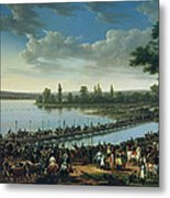 Napoleon Before The Battle Of Wagram, 6th July 1809 Metal Print