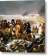Napoleon On The Battlefield Of Eylau Metal Print