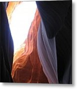 Narrow Canyon V Metal Print