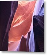 Narrow Canyon Xvi - Antelope Canyon Metal Print