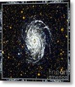 Nasa Big Brother To The Milky Way Metal Print