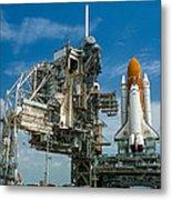 Nasa Space Shuttle Metal Print