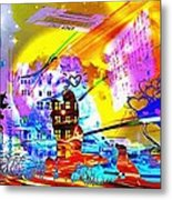 Nasdaq Who What When Where And Why Metal Print