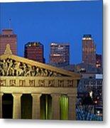 Nashville Parthenon Metal Print
