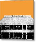 Nashville Skyline Grand Ole Opry - Orange Metal Print