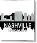 Nashville Tn 4 Metal Print by Angelina Vick