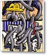 Nassau Junkanoo 1 Metal Print by Philip Slagter