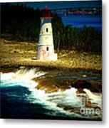 Nassau Lighthouse Metal Print