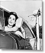 Natalie Wood At A Drive-in Metal Print