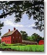Nathan Hale Homestead Coventry Connecticut Metal Print