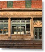 National Bank Of Thurmond Metal Print