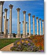National Capitol Columns Metal Print