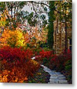 National Cathedral Path Metal Print