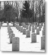 National Cemetery   # Metal Print