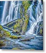 National Creek Falls Metal Print