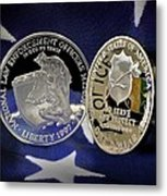 National Law Enforcement Memorial Mint Metal Print by Gary Yost