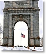 National Memorial Arch Metal Print by Olivier Le Queinec