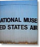 National Museum United States Air Force Metal Print