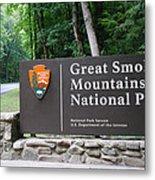 National Park Metal Print