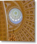 National Statuary Rotunda Metal Print