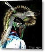 Native American Boy Metal Print