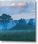 Native American Burial Ground Metal Print