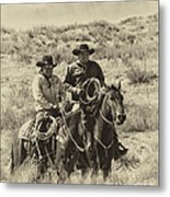Native American Cowboys Metal Print