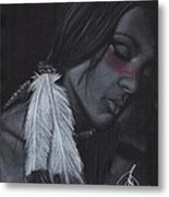 Native American Metal Print