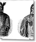 Native Americans: Sign Language Metal Print
