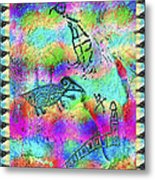 Native Legends I Metal Print