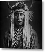Native Man Circa 1900 Metal Print