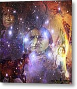 Native One Metal Print