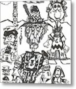 Natives Metal Print