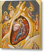 Nativity Of Christ Metal Print